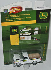 John Deere - 1993 FORD F-150 PICKUP - white  - 1:64 Johnny Lightning