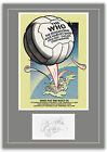 The Who Charlton 1976 Concert Poster and Autographs Memorabilia Poster 2 Sizes