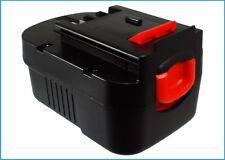 UK Batteria per BLACK & DECKER bdgl14k-2 499936-34 499936-35 14.4 V ROHS