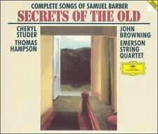 Complete Songs of Samuel Barber ~ Secrets of the Old / Studer, Hampson, Browning