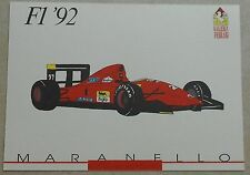 Galleria Ferrari 1993 f1 1992 SCHEDA CARD NO brochure prospetto book libro Press