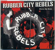 Rubber City Rebels -Pierce My Brain CD US PRESS Lewd Nerves Knack Akron Punk KBD
