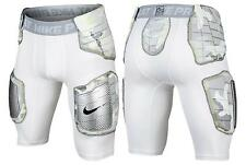 NIKE PRO COMBAT HYPERSTRONG HARD PLATE FOOTBALL SHORTS WHITE 688547-100  SIZE XL