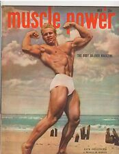 Muscle Power bodybuilding fitness magazine Jack Delinger AAU Mr America 5-49