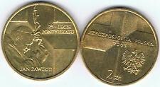 Papst Jan Pawel II 25 Lat Pontyfikatu 2003 2 Zl Muenze Nordic Gold Bfr,