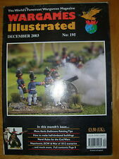 WARGAMES ILLUSTRATED No 195 DECEMBER 2003 KEVIN DALLIMORE PAINTING TIPS