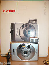 BOXED CANON IXUS Z50 QUARTZ DATE~PANORAMA APS FILM CAMERA WITH 26-52M LENS 41F12