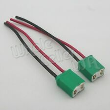 2xH7 Ceramic Extended Headlight Lamp Bulb Holder Connector Wiring Harness Socket