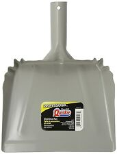 Quickie Old Fashioned Metal Dust Pan - Gray