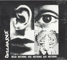 DISCHARGE - HEAR NOTHING SEE NOTHING SAY NOTHING - sealed digipak - AHOY DPX 620