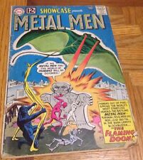Showcase #37 1962 Silver Age DC 1st appearance of Metal Men reading copy