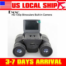 US! HD Digital Binoculars Telescope DVR Video Camera For Hunting Sightseeing