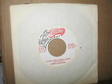 "JIMMY WINDROW 7"" 45 RPM RECORD LIVING BREATHING QUEEN AUTOGRAPHED"