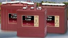 12V 150AH, Trojan T-1275 battery, for  GOLF CARTS, accept trade-ins
