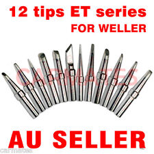 12PCs Solder Soldering Rework Station Iron Tips for Weller LR-21 PU50 WMD1 WD1M