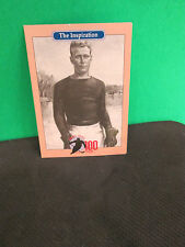 HOBEY BAKER- THE INSPIRATION FOR 100 YEARS OF COLLEGE HOCKEY'S PAST WINNERS CARD