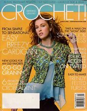 Defining Crochet March 2006 CrobeadKnit Accessories Dress Granny 33 Patterns