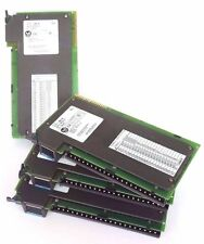 LOT OF 4 ALLEN BRADLEY 1771-IBD INPUT MODULES SER. B REV. E03 10-30VDC 1771IBD