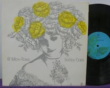 BOBBY DARIN 18 Yellow Roses LP V/RARE AUSTRALIAN ONLY WRC NM! Unique Cover Label