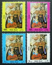 IRAK IRAQ 1989 Frauen Gemälde Paintings Freimarken 1455-58 ** MNH