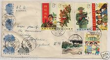 Stamp cover China peoples liberation army 1965 stamps envelope