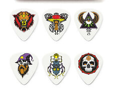 12 (TWELVE)Alan Forbes Blackline Ser2 Guitar Picks DUNLOP CHOOSE YOUR GAUGE