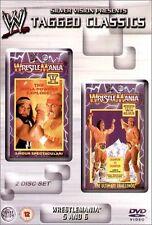 WWF Wrestlemania V & VI 5 & 6 Orig 2 DVDs WWE Wrestling