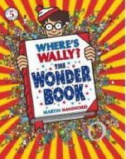 "Where's Wally? The Wonder Book, Martin Handford, ""AS NEW"" Book"