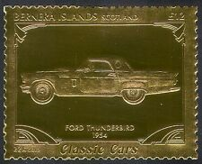 Bernera (L) Ford Thunderbird/Vintage Car/Gold/Transport/Motoring/Cars 1v s6048i