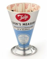 Tala Retro 1950s Design Cooks Traditional Dry Food Ingredients Measure Cooking