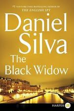 The Black Widow by Daniel Silva (2016, Paperback, Large Type)
