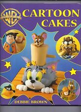 Cartoon Cakes by Debbie Brown (2003, Hardcover)