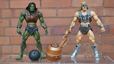 TYTUS AND MEGATOR MOTUC (Masters of the Universe Classics)  he-man
