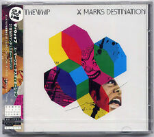 THE WHIP X Marks Destination Japan promo sample CD + DVD SEALED Southern Fried