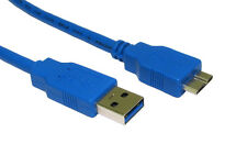 USB 3.0 Type A Male to B Micro Sync Data Power HDD Hard Disk Drive Cable Lead-