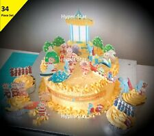 In The Night Garden Cup Cake Scene Topper Wafer Edible Birthday Party STAND UP