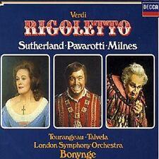 """LUCIANO PAVAROTTI """"VERDI: RIGOLETTO (GA)"""" 2 CD NEUWARE"""