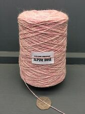 200G PINK / NATURAL MIX COLOUR 2/11.5NM LAMBSWOOL YARN ALPINE ROSE