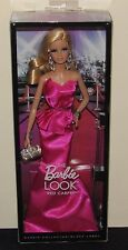 2014 Barbie Look Red Carpet Pink Gown Dress NIB Model Muse Black Label #BCP89
