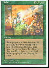 MAGIC THE GATHERING 4TH EDITION GREEN REBIRTH