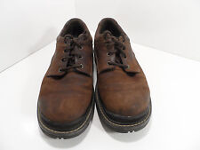 Outland Casual Men's Brown Leather Shoes Size 8 - GC