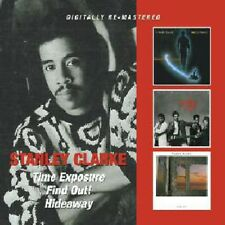 Time Exposure/Find Out!/Hideaway - Stanley Clarke (2011, CD NEUF)2 DISC SET