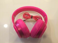 Authentic Beats by Dr. Dre Solo2 Wired Headphones - Pink - Good Condition