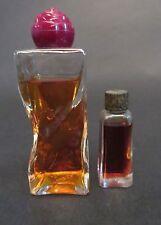 Lot of 2! Rare Vintage Ciro Acclaim Perfume & Eau de Toilette Flower Stopper