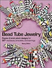 Bead Tube Jewelry: Peyote and brick stitch designs for 30+ necklaces, -ExLibrary
