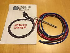 Soft Shackle Splicing Kit includes 4mm Selma Fid 12 strand dyneema +Instructions