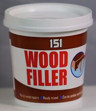 New 151 Wood  Filler  All Wood Repairs Be Sanded Painted 600g Tub Ready Mixed