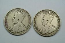 1916 & 1919 Canada 50 Cents Coins - C1839