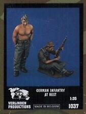 1/35 - Coppia di fanti tedeschi a riposo (Seconda Guerra Mondiale)