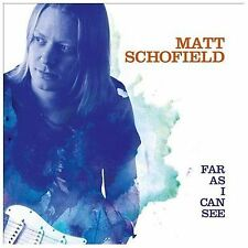 Far as I Can See [Digipak] by Matt Schofield (CD, Feb-2014, Provogue Music...
